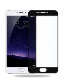 Folie Fullscreen 2.5D din sticla securizata pentru Meizu MX6 NEGRU