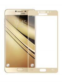 Folie Fullscreen 2.5D din sticla securizata pentru Samsung Galaxy Note 4 GOLD