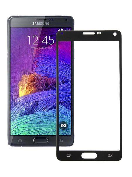 Folie Fullscreen 2.5D din sticla securizata pentru Samsung Galaxy Note 4 NEGRU
