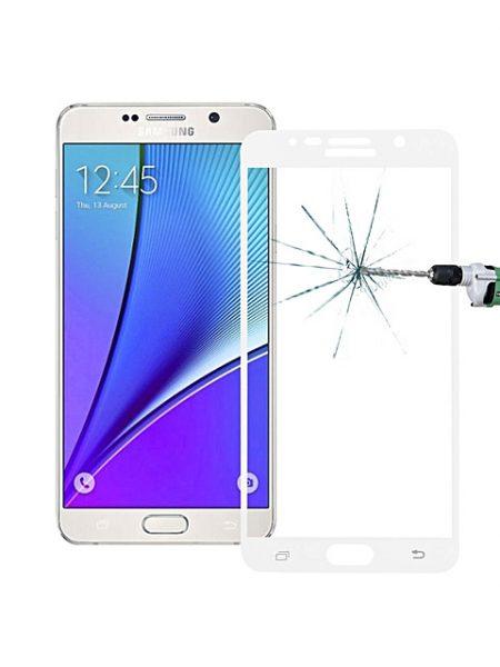 Folie Fullscreen 2.5D din sticla securizata pentru Samsung Galaxy Note 5 ALB