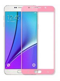 Folie Fullscreen 2.5D din sticla securizata pentru Samsung Galaxy Note 5 ROSE