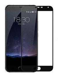 Folie Fullscreen 2.5D din sticla securizata pentru Meizu Pro 5 NEGRU