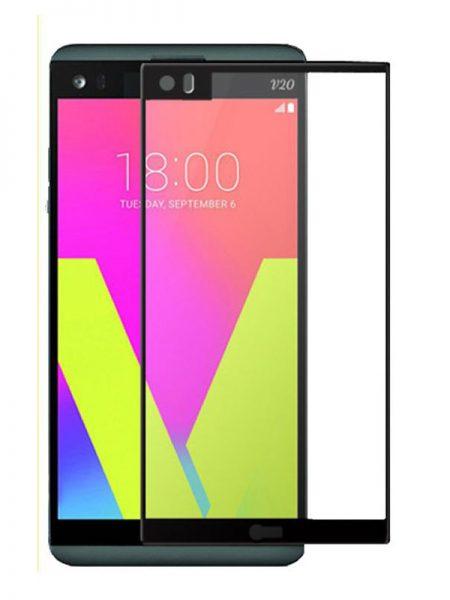 Folie Fullscreen 2.5D din sticla securizata pentru LG V20 NEGRU