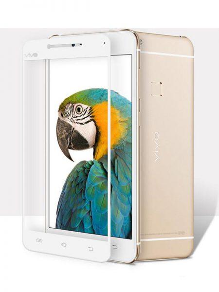 Folie Fullscreen 2.5D din sticla securizata pentru Vivo X6 Plus / X6S Plus ALB