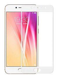 Folie Fullscreen 2.5D din sticla securizata pentru Vivo X7 Plus ALB