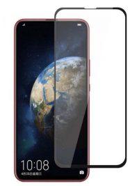 Folie ușor curbată 5D din sticlă securizată pentru Huawei Honor Magic 2 NEGRU - Full glue
