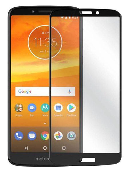 Folie Fullscreen 9D din sticla securizata pentru Motorola Moto E5 Play / Moto E5 Cruise - FULL GLUE