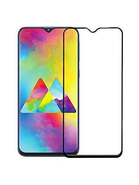 Folie Fullscreen 9D din sticla securizata pentru Samsung Galaxy M20 - FULL GLUE