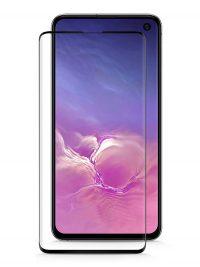 Folie Fullscreen 111D din sticla securizata pentru Samsung Galaxy S10e NEGRU - FULL GLUE