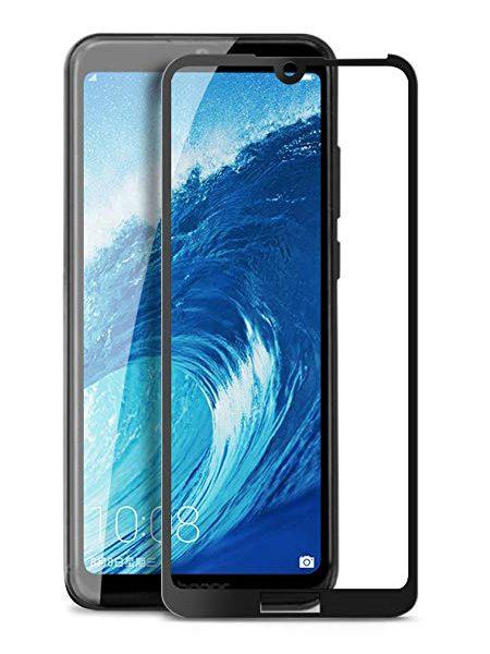 Folie Fullscreen 9D din sticla securizata pentru Huawei Y6 / Y6 Pro (2019) - FULL GLUE