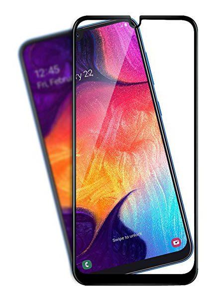 Folie Fullscreen 11D din sticla securizata pentru Samsung Galaxy A30 / A50 - FULL GLUE