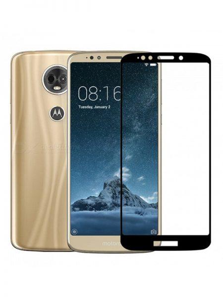 Folie Fullscreen 9D din sticla securizata pentru Motorola Moto E5 Plus - FULL GLUE
