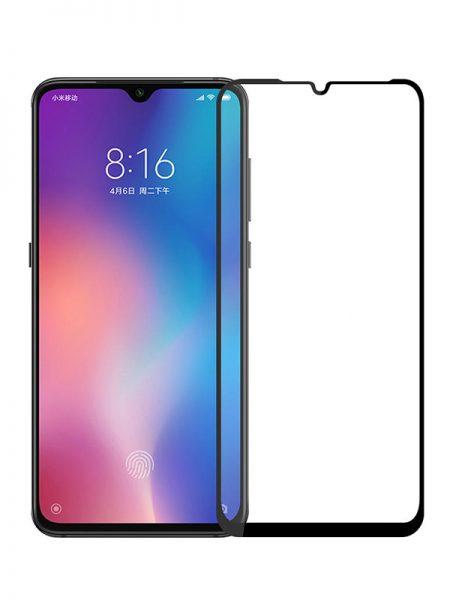 Folie Fullscreen 9D din sticla securizata pentru Xiaomi Mi 9 - FULL GLUE