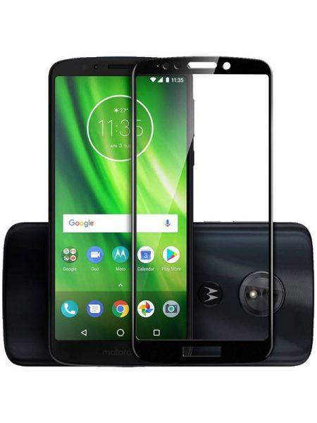 Folie Fullscreen 9D din sticla securizata pentru Motorola Moto G6 Play - FULL GLUE