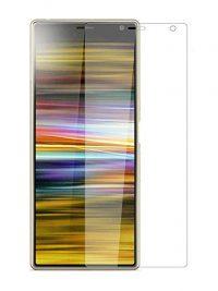 Folie curbată 3D din sticlă securizată pentru Sony Xperia 10 TRANSPARENT (full cover)