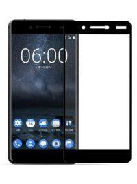 Folie Fullscreen 5D din sticla securizata pentru Nokia 7 - FULL GLUE