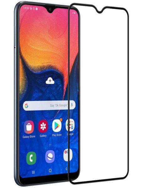 Folie Fullscreen 2.5D din sticla securizata pentru Samsung Galaxy A10 NEGRU