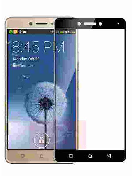 Folie Fullscreen 2.5D din sticla securizata pentru Lenovo K6 Note NEGRU
