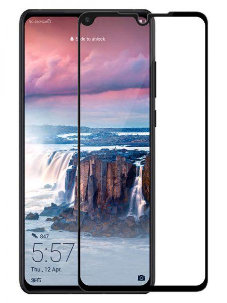 Folie Fullscreen 2.5D din sticla securizata pentru Huawei P30 NEGRU