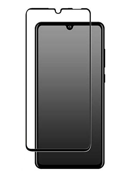 Folie Fullscreen 2.5D din sticla securizata pentru Huawei P30 Lite NEGRU