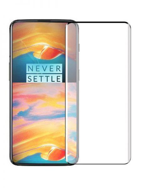 Folie curbată 3D din sticlă securizată pentru OnePlus 7 Pro NEGRU