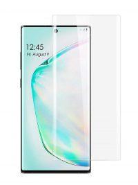 Folie curbată 3D din sticlă securizată pentru Samsung Galaxy Note10 TRANSPARENT - Full cover