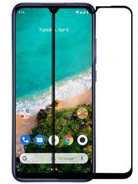 Folie ușor curbată 5D din sticlă securizată pentru Xiaomi Mi A3 / Mi CC9e NEGRU - Full glue
