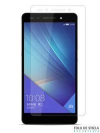 Folie din sticla securizata pentru Huawei Honor 7