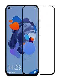 Folie ușor curbată 5D din sticlă securizată pentru Huawei P20 Lite (2019) / P40 Lite / Nova 5i NEGRU - Full glue