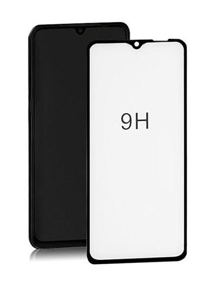 Folie ușor curbată 5D din sticlă securizată pentru Samsung Galaxy A10E / A20E NEGRU - Full glue