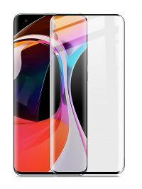 Folie curbată 3D din sticlă securizată pentru Xiaomi Mi 10 /10 Pro NEGRU - FULL GLUE (full cover)
