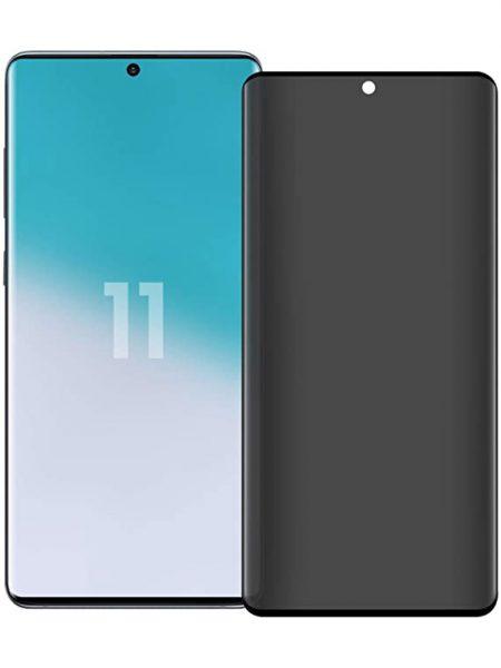 Folie PRIVACY curbată 3D din sticlă securizată pentru Samsung Galaxy S20 Ultra
