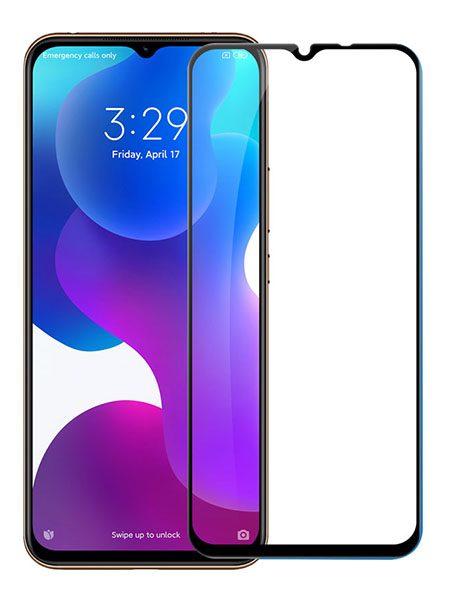Folie ușor curbată 5D din sticlă securizată pentru Xiaomi Mi 10 Lite (5G) / 10 Youth (5G) NEGRU - Full glue