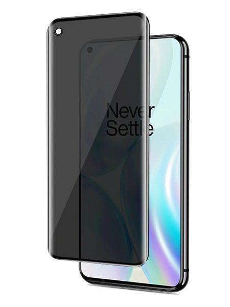 Folie PRIVACY curbată 3D din sticlă securizată pentru OnePlus 8 Pro