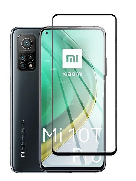 Folie Fullscreen 9D din sticla securizata pentru Xiaomi Mi 10T / 10T Pro 5G - FULL GLUE