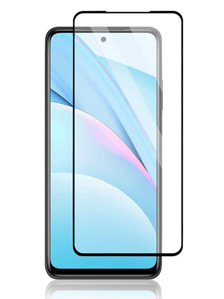 Folie ușor curbată 5D din sticlă securizată pentru Xiaomi Mi 10T Lite 5G NEGRU - Full glue