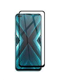 Folie ușor curbată 5D din sticlă securizată pentru OnePlus Nord NEGRU - Full glue