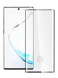 Folie curbată 3D din sticlă securizată pentru Samsung Galaxy Note20 Ultra NEGRU - FULL GLUE