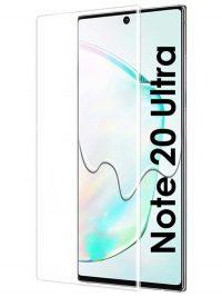 Folie curbată 3D din sticlă securizată pentru Samsung Galaxy Note20 Ultra TRANSPARENT - Full cover