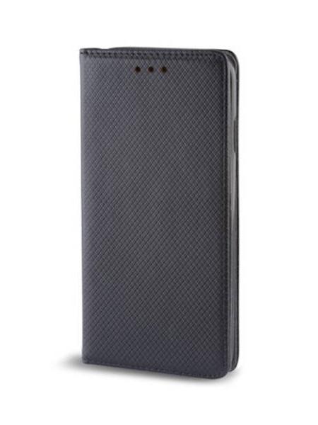 Husă Smart Magnet Case pentru Motorola One Fusion Plus - Negru