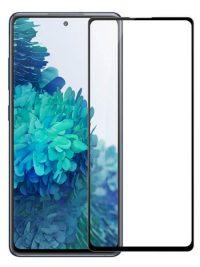Folie Fullscreen 9D din sticla securizata pentru Samsung Galaxy S20 FE / S20 FE 5G - FULL GLUE