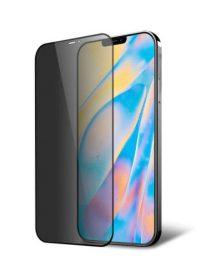 Folie PRIVACY ușor curbată 5D din sticlă securizată pentru iPhone 12 Mini