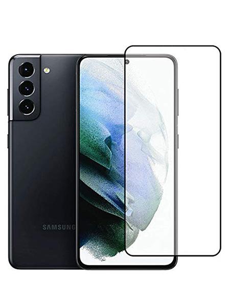 Folie Fullscreen 9D din sticla securizata pentru Samsung Galaxy S21+ 5G - FULL GLUE